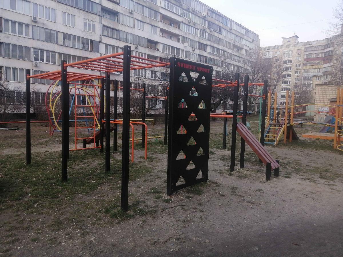 Kyiv - Street Workout Park - Улица Энтузиастов