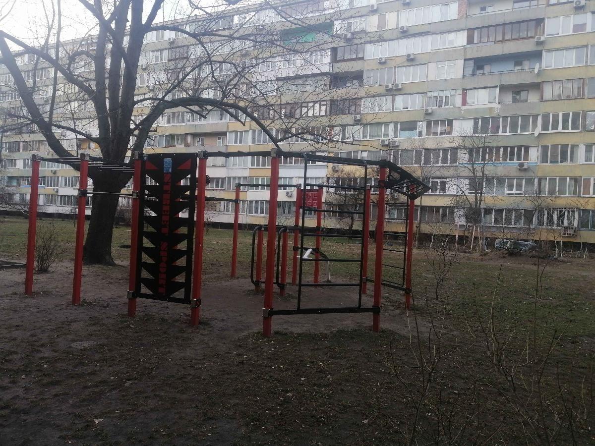 Kyiv - Street Workout Park - Парикмахерская-салон