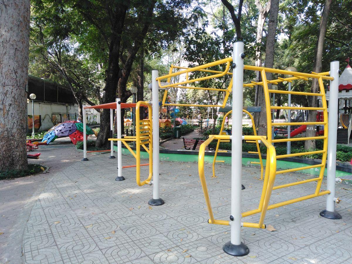 Ben Thanh Ward - Street Workout Park - Kin Concept