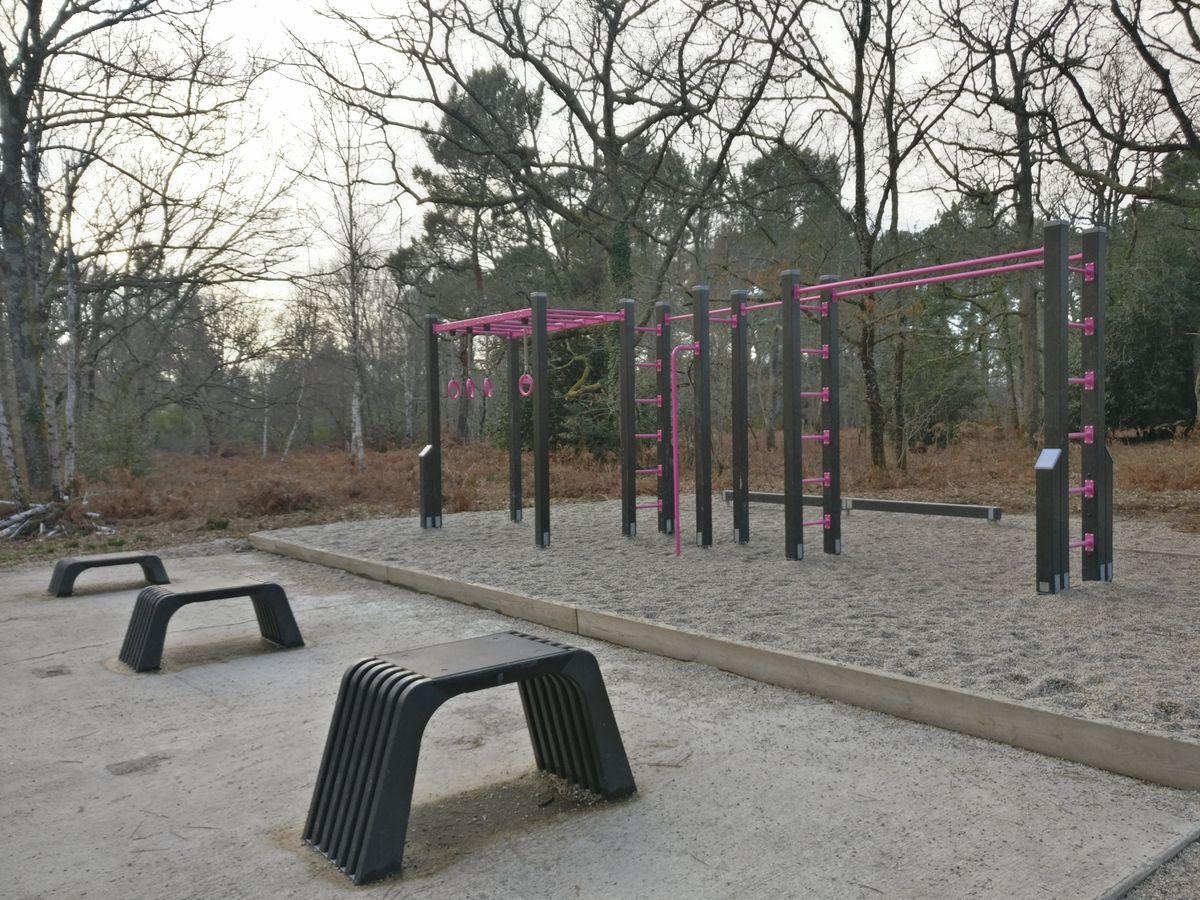 Pessac - Street Workout Park - Avenue De Magonty