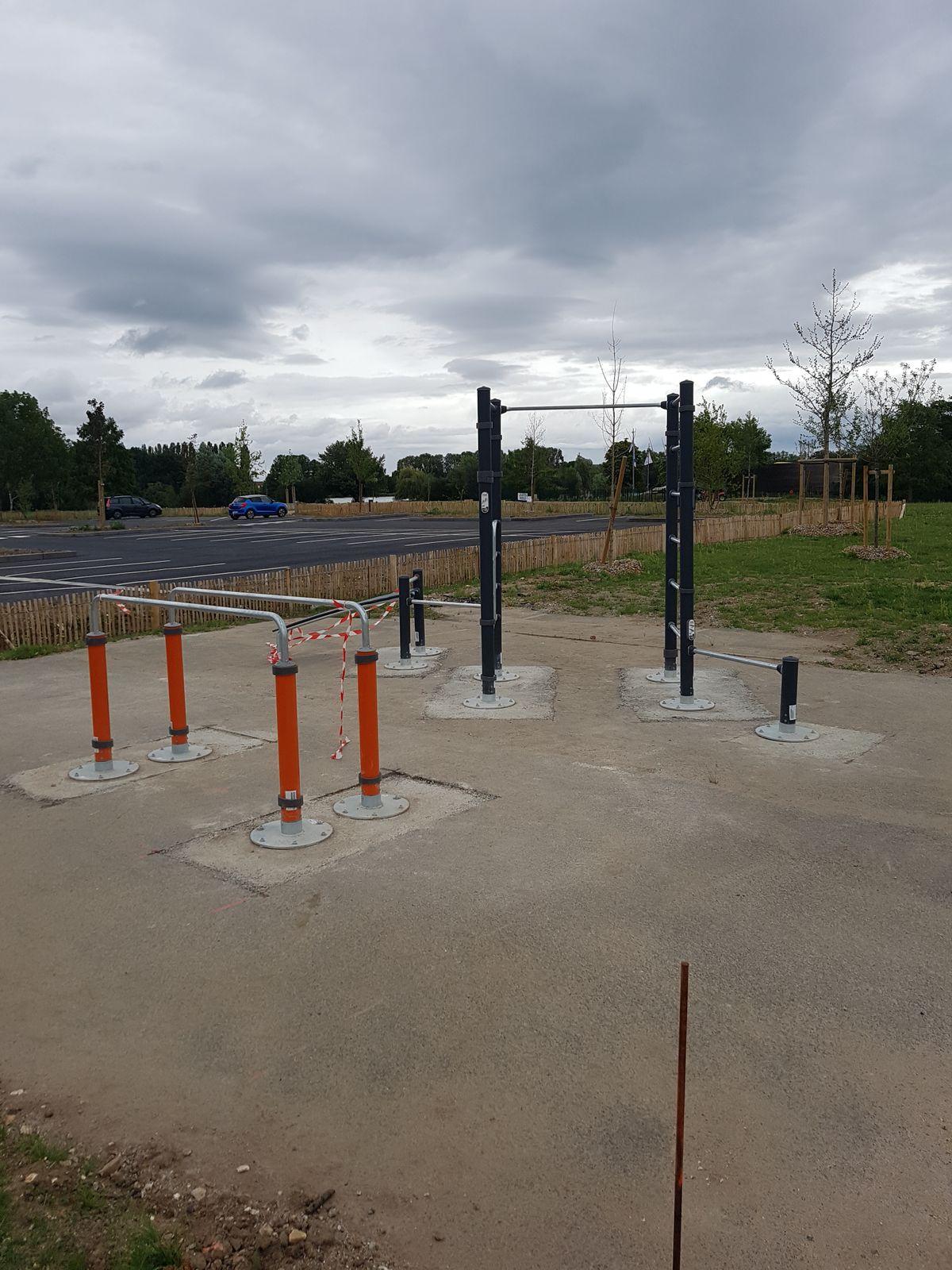 Châlette-sur-Loing - Street Workout Park - Rue Du Lac