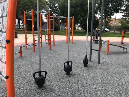 Colomiers - Calisthenics Park - Square Etienne Canellas - 2