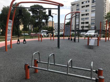 Colomiers - Calisthenics Park - Square Etienne Canellas - 3
