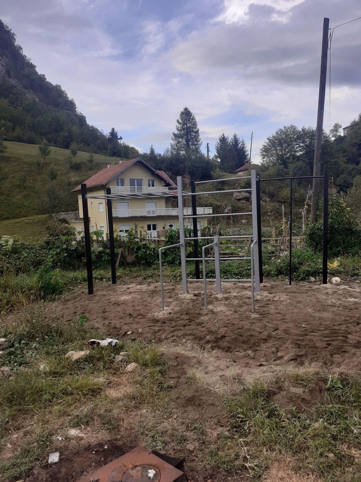 Stupari - Street Workout Park - Kladanj