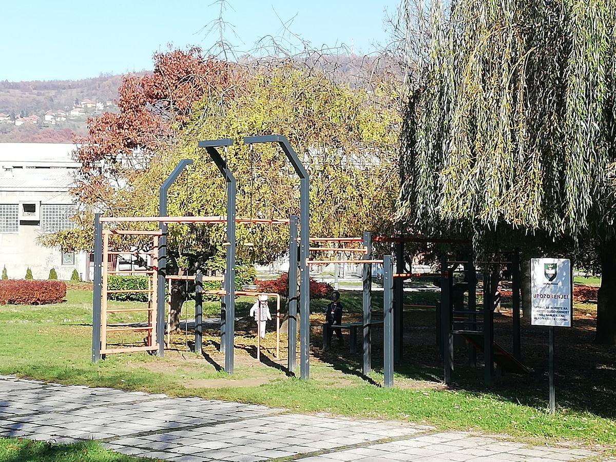 Visoko - Calisthenics Park MLADOST - Visoko