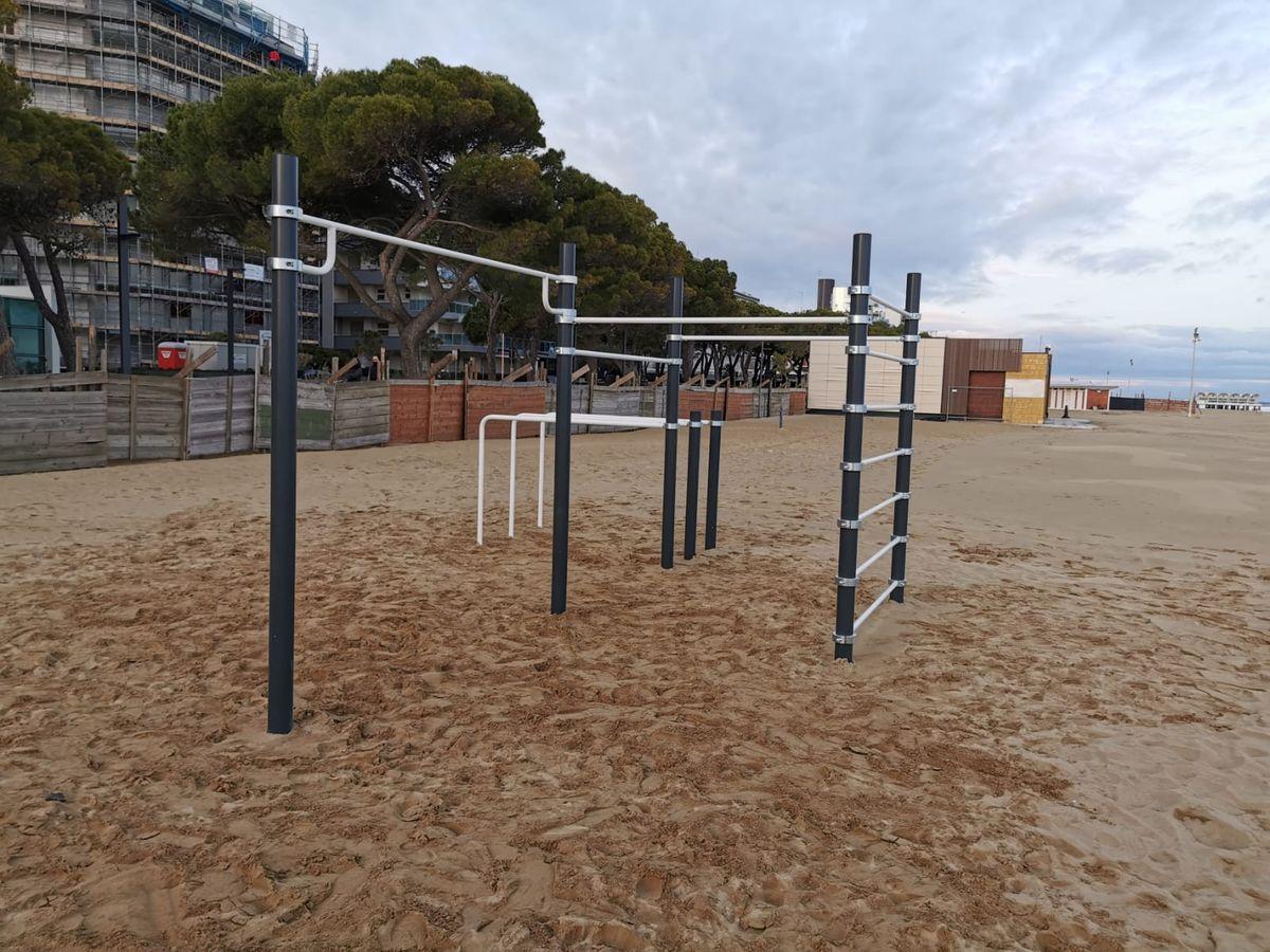 Lignano Sabbiadoro - Street Workout Park - Lungomare Trieste