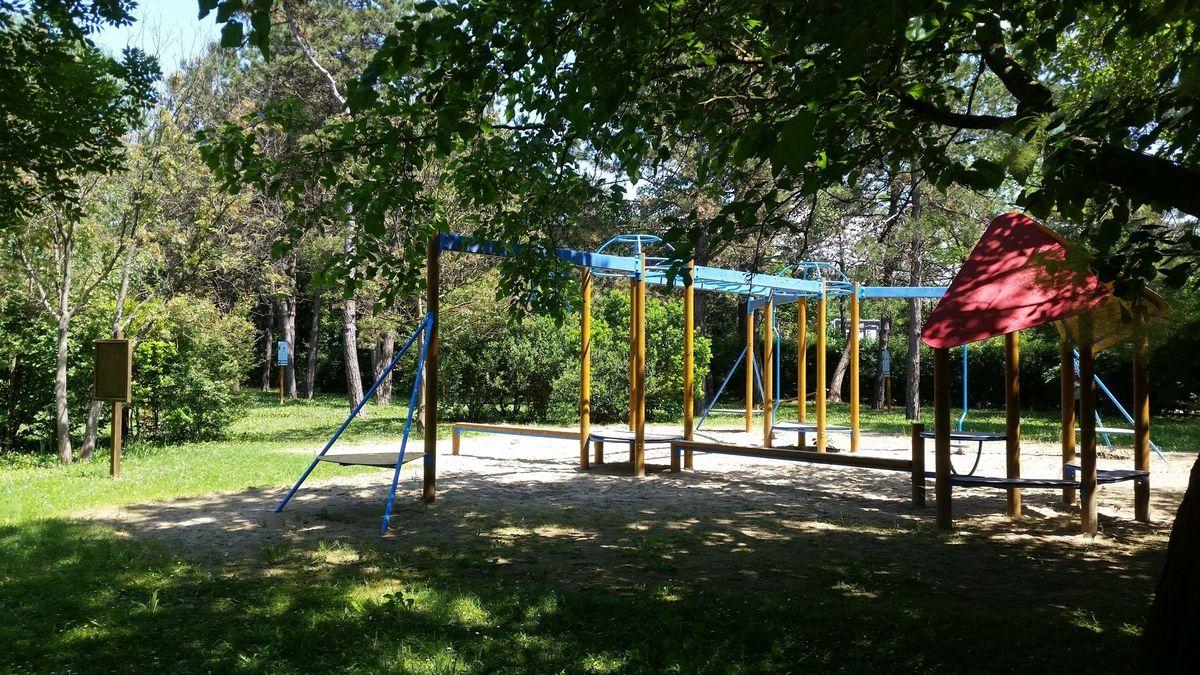 Lignano Sabbiadoro - Street Workout Park - Via Casa Bianca