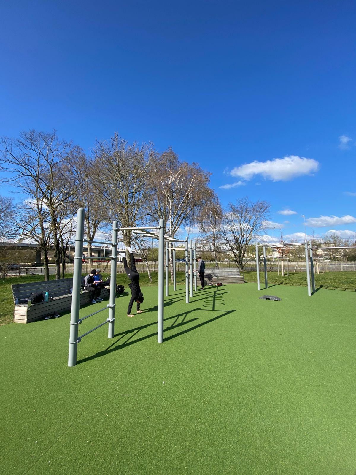 Angers - Street Workout Park - Quai Félix Faure