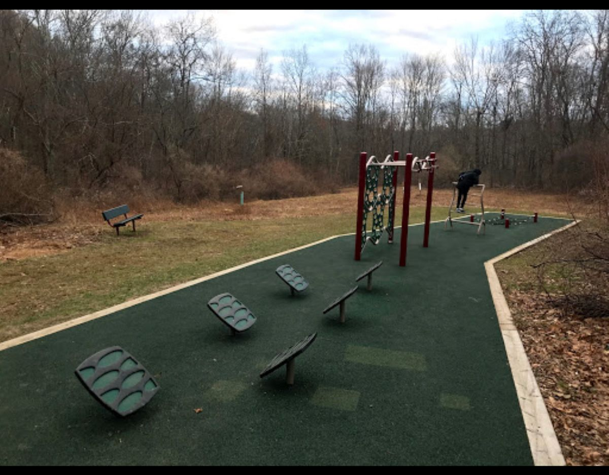 Bear Mountain Reservation Trail Workout Park