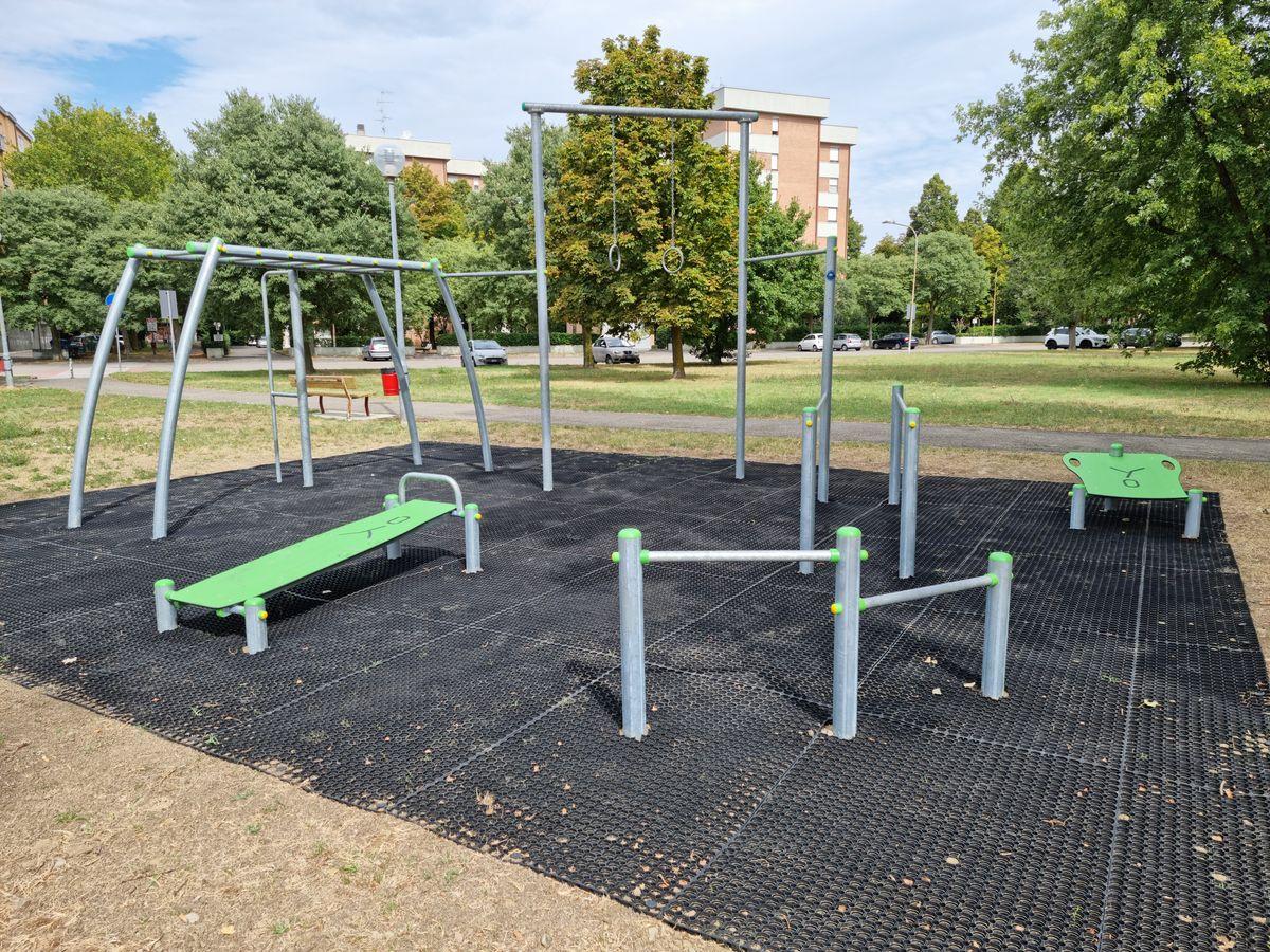 Carpi - Parco delle Nazioni - Via Montecarlo - Fitness Center by Arredo Park