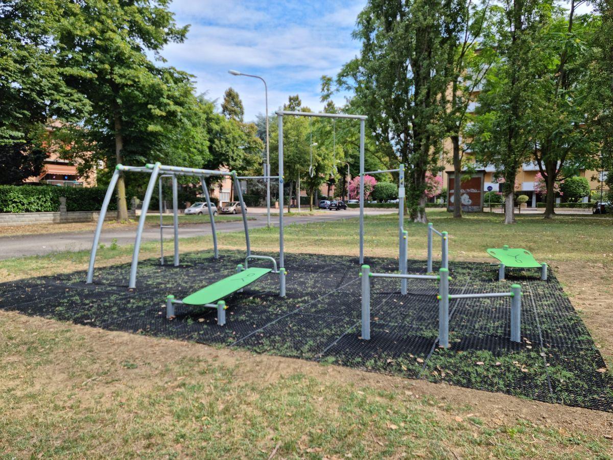 Carpi - Parco degli Scrittori Latini - Via Terenzio - Fitness Center by Arredo Park