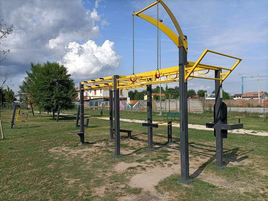 Breda di Piave - Street Workout Park - Via Europa