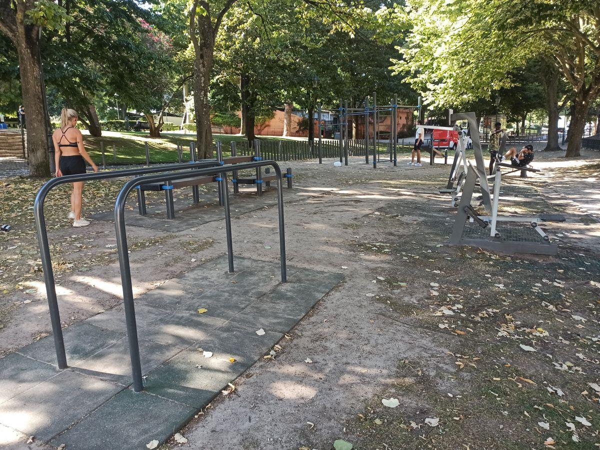 Lisbon - Calisthenics Park - Campo Dos Mártires Da Pátria - 2