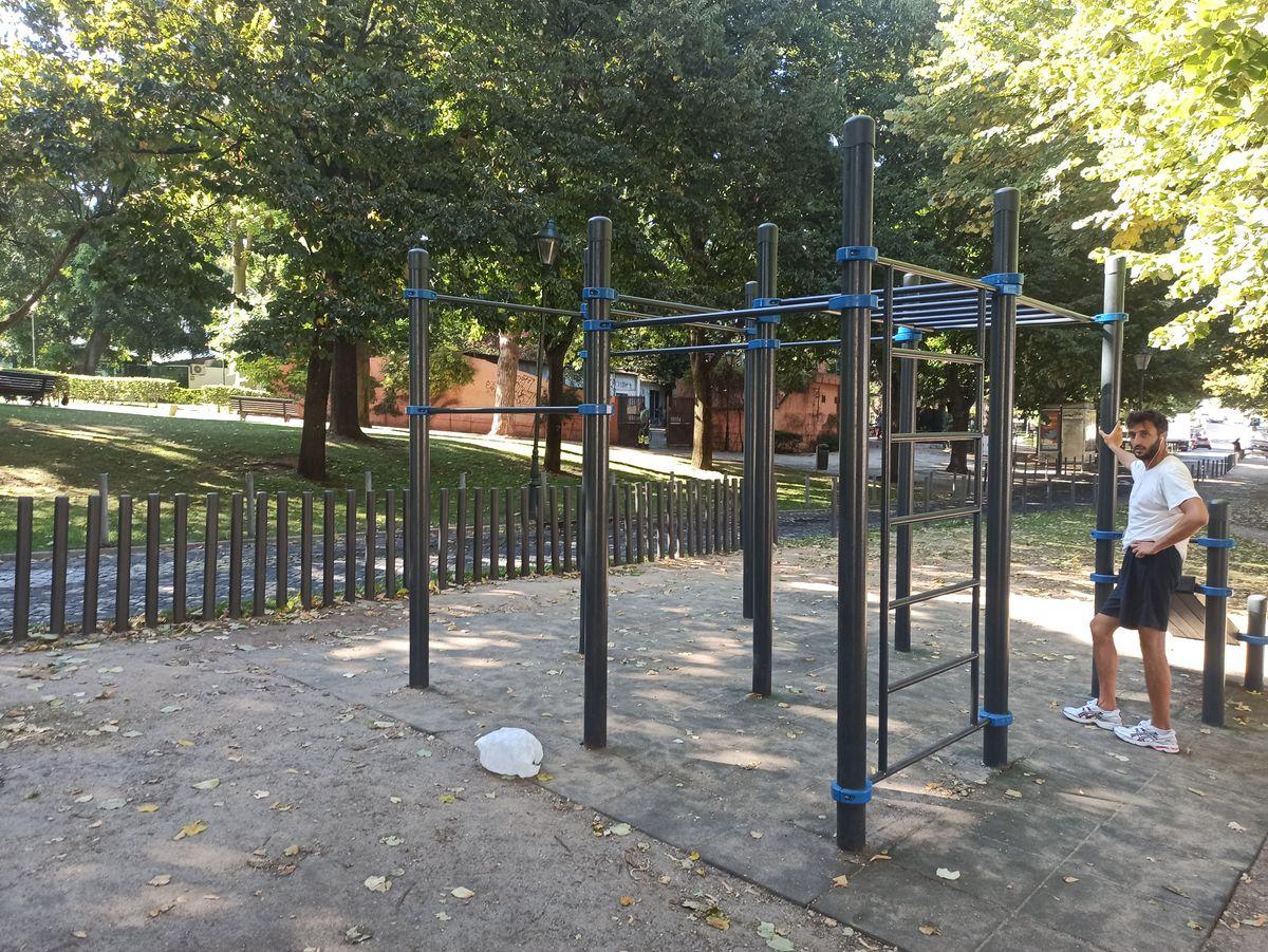 Lisbon - Calisthenics Park - Campo Dos Mártires Da Pátria