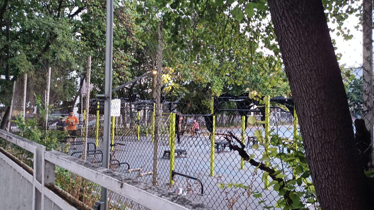 Varna - Street Workout Park - Атанас Георгиев