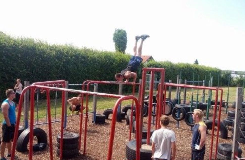 Gniebel - Street Workout Park