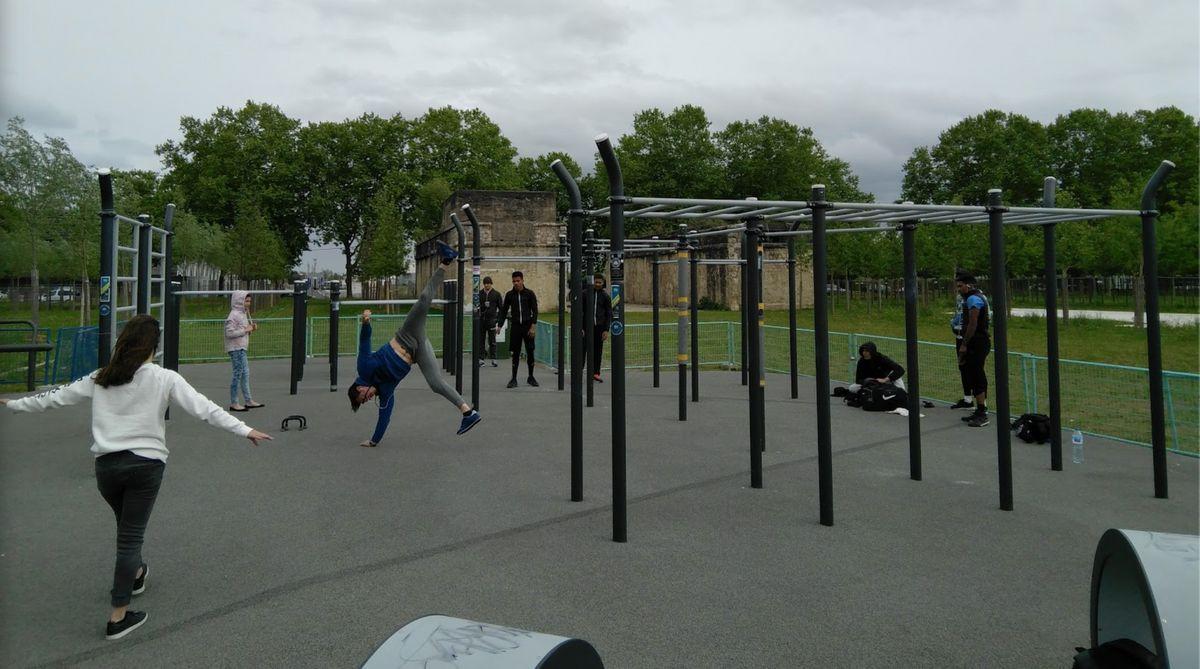 Bordeaux - Calisthenics Park - Bastide-Niel
