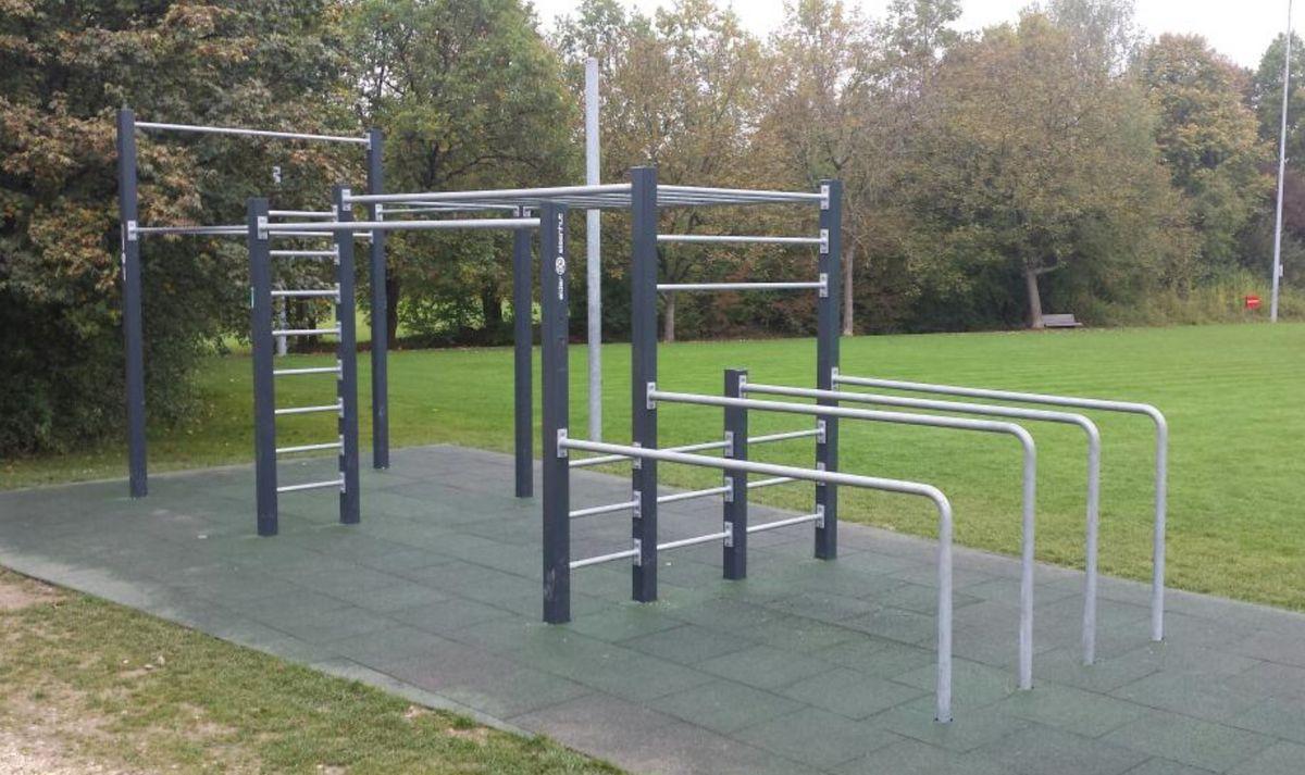 Zurich -  Street Workout Park - Allmendsee