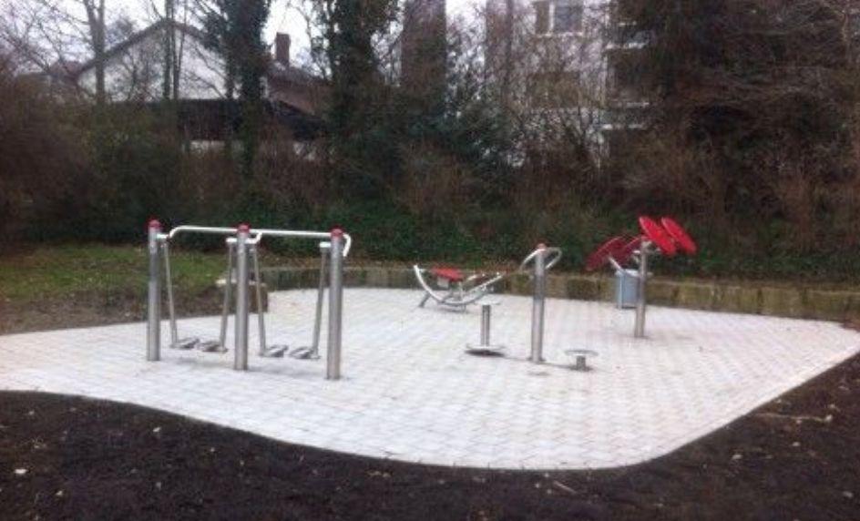 Hanover - Street Workout Park - Vahrenwalder Park
