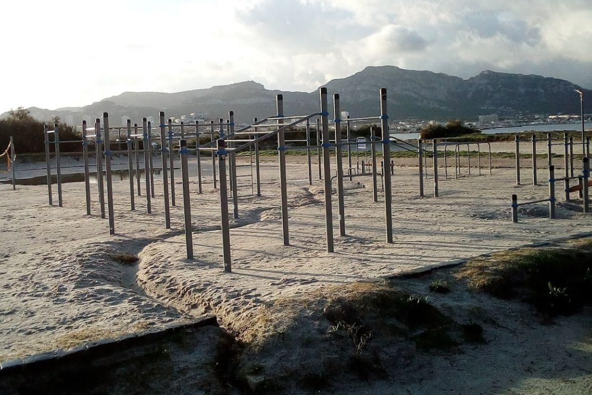 Marseille – Calisthenics Park  - Plage de David