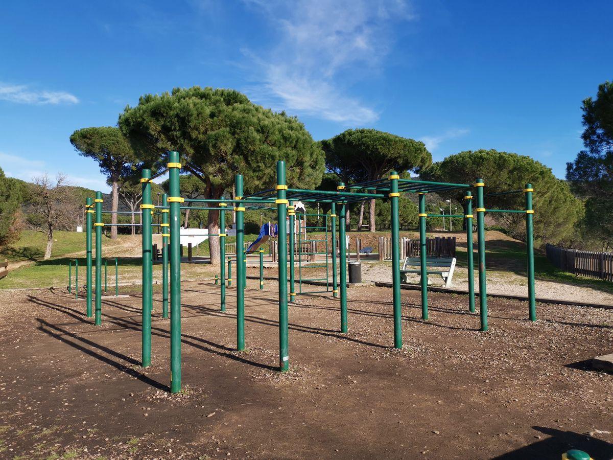Sainte-Maxime - Street Workout Park - Frankreich