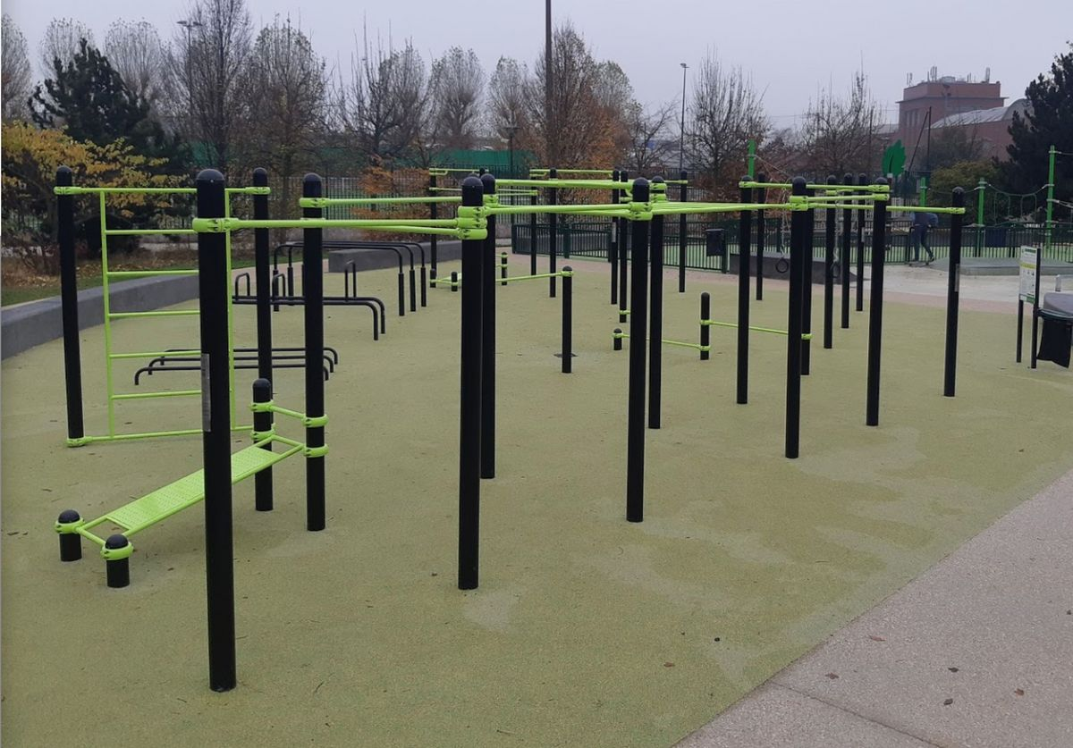 Gennevilliers - Street Workout Park - Parc des Sevinnes