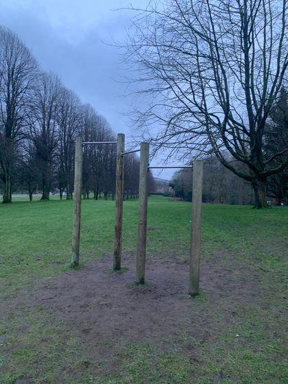 Belfast - Calisthenics Park at Stormont Estate - 2