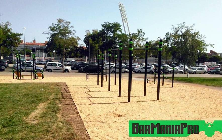Barcelona - Calisthenics Park - Barmania.PRO