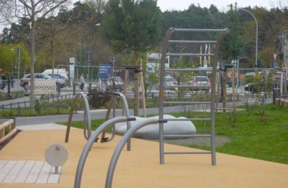 Potsdam - Workout Park - Drewitz Parkanlage