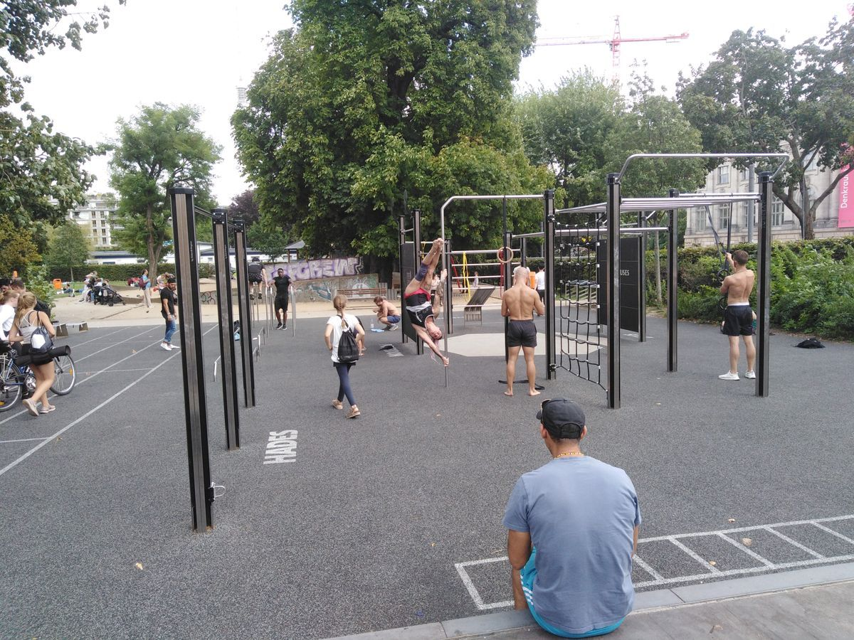 Berlin - Calisthenics Park - Monbijoupark - Freeletics Training Ground