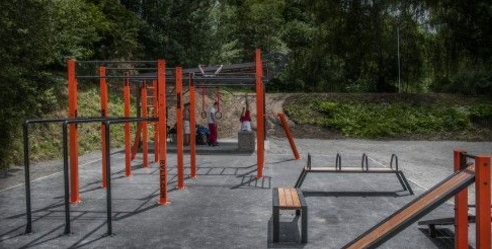 Chrudim - Street Workout Park - Czech Republic