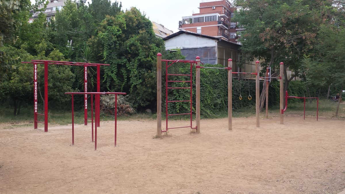 Rome - Calisthenics Park - Parco Andrea Campagna