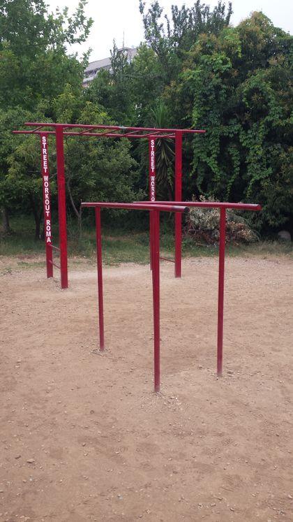 Rome - Calisthenics Park - Parco Andrea Campagna - 2