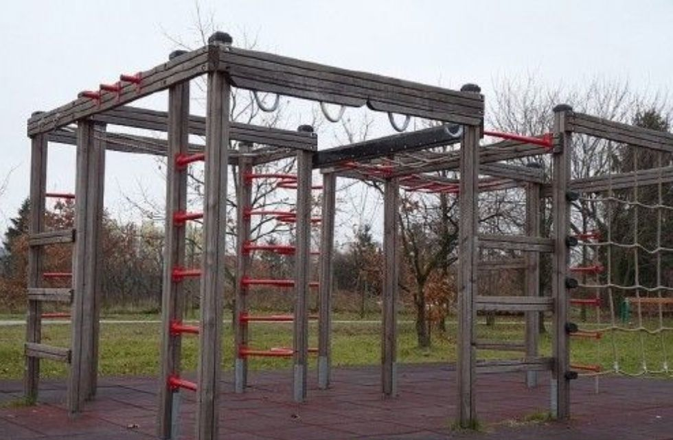 Warsaw - Outdoor Gym - Tarchomin