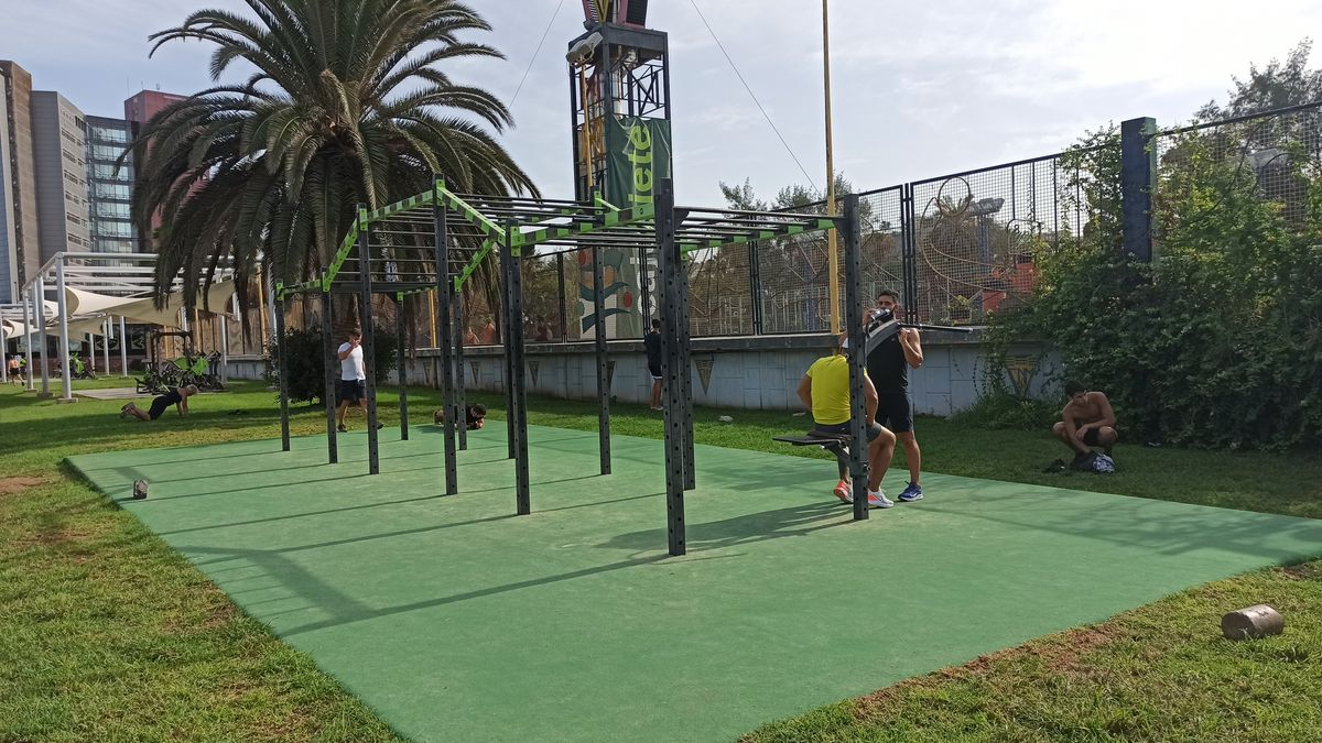 Las Palmas de Gran Canaria - Calisthenics Park - SParque Romano