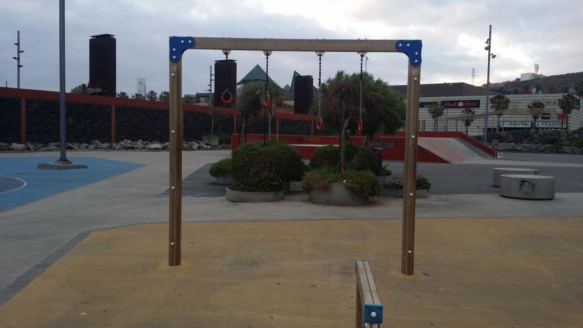 Las Palmas de Gran Canaria - Calisthenics equipment  - Carretera. del Rincon