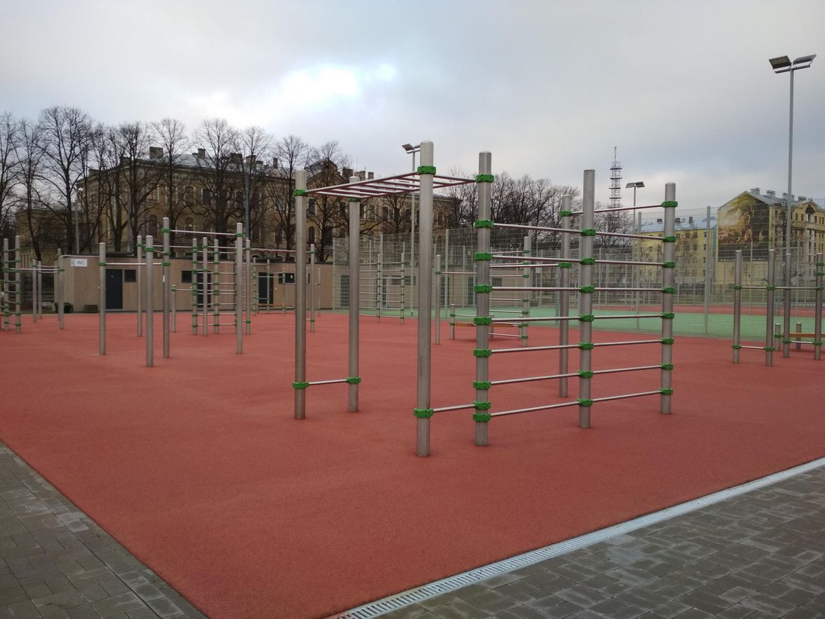 Riga - Calisthenics Park - Central Sports District