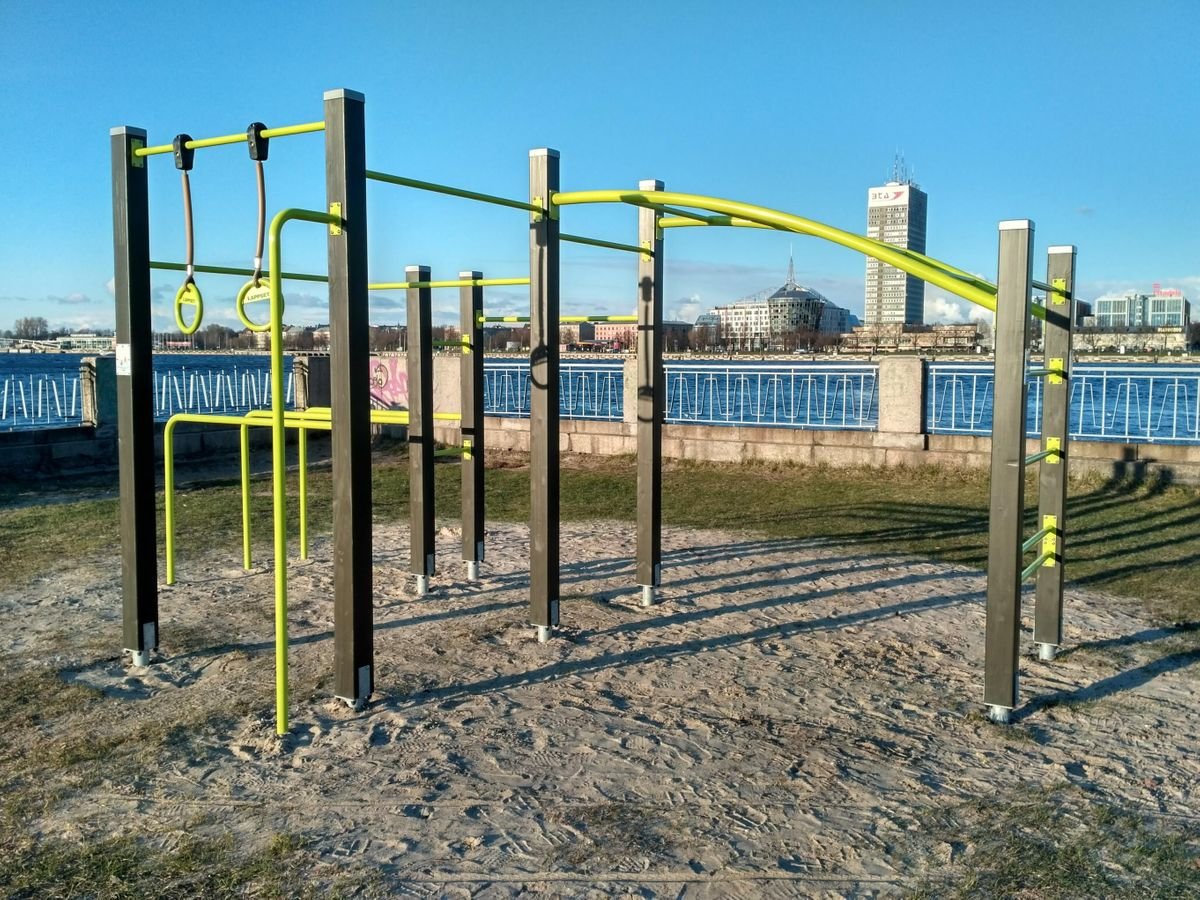 Riga - Calisthenics Equipment - Lappset - Vanšu tilts