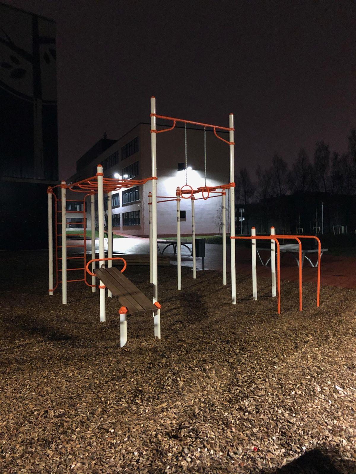 Calisthenics Facility - Tartu - Variku Kooli staadion