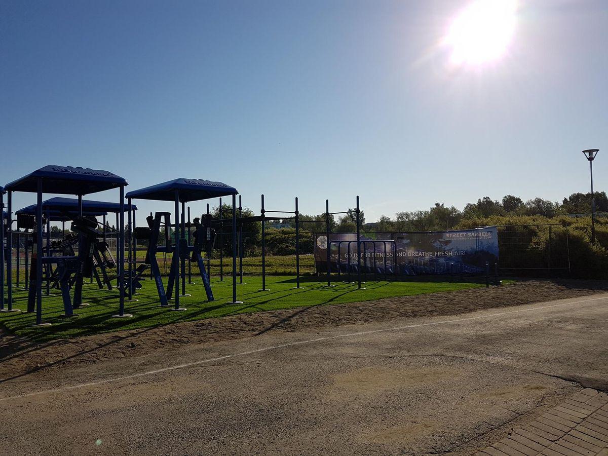 Joensuu - Outdoor Exercise Park - Areena