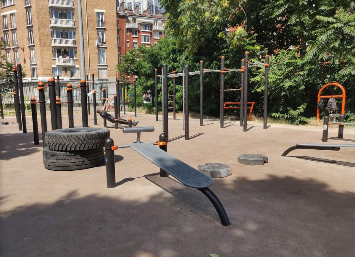 Paris - Street Workout Park - 20. Arrondissement
