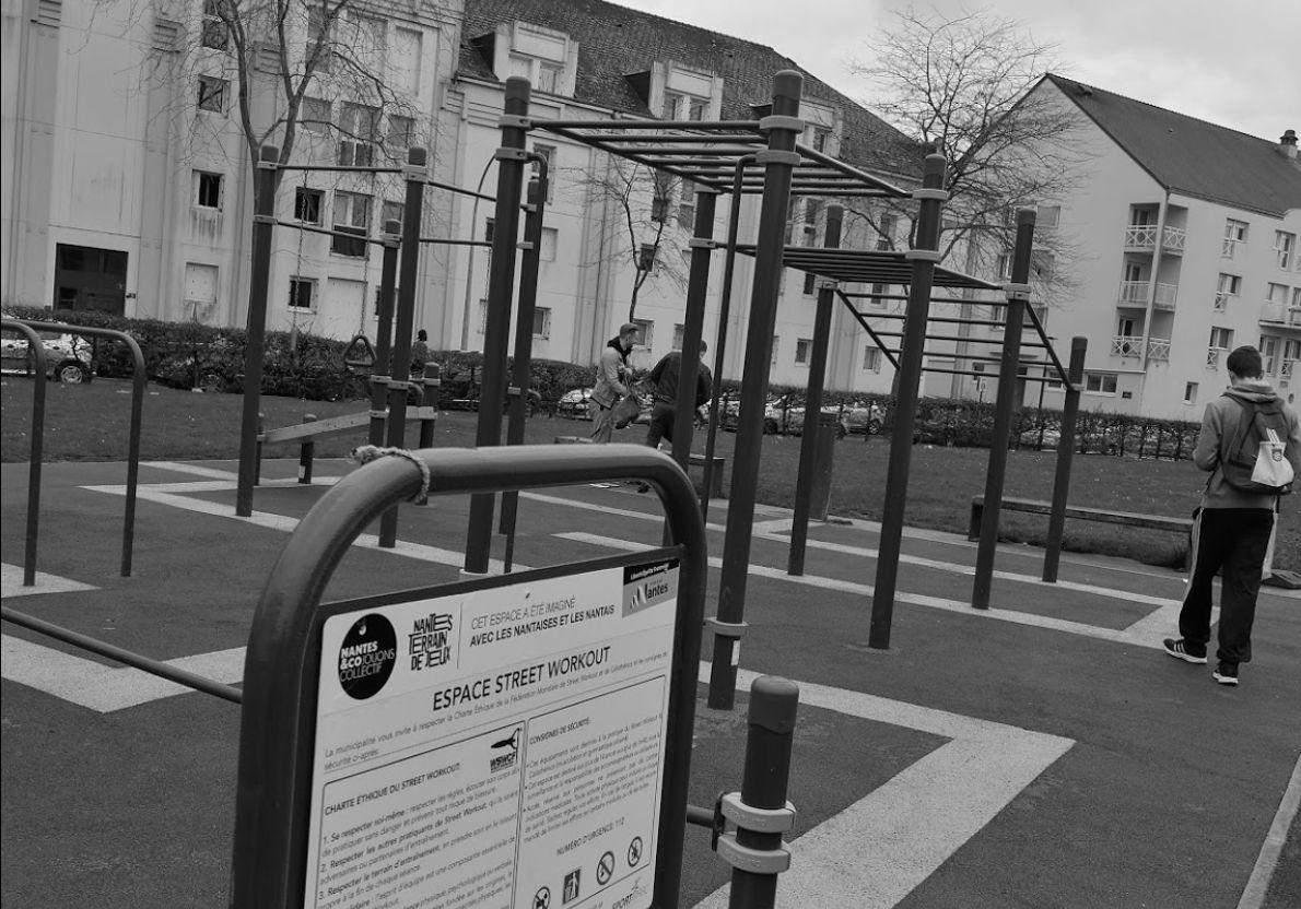 Nantes - Calisthenics Park - Île de Nantes