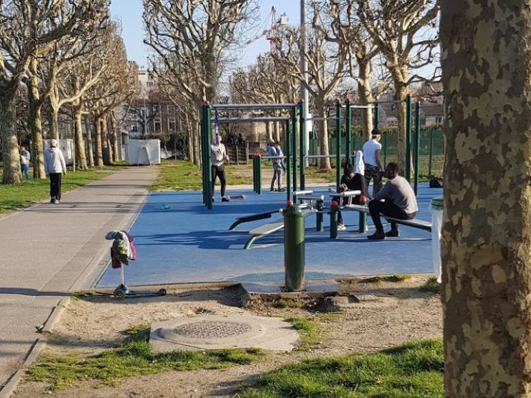 Paris - Street Workout Park - Porte d'Ivry