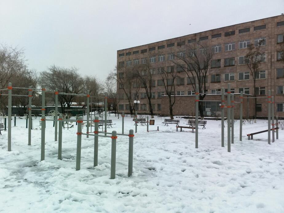 Yerevan - Street Workout Park - Buenos Aires Park