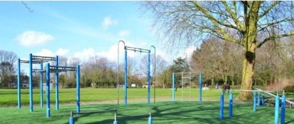 Dordrecht - Calisthenics Park - Weizigtpark