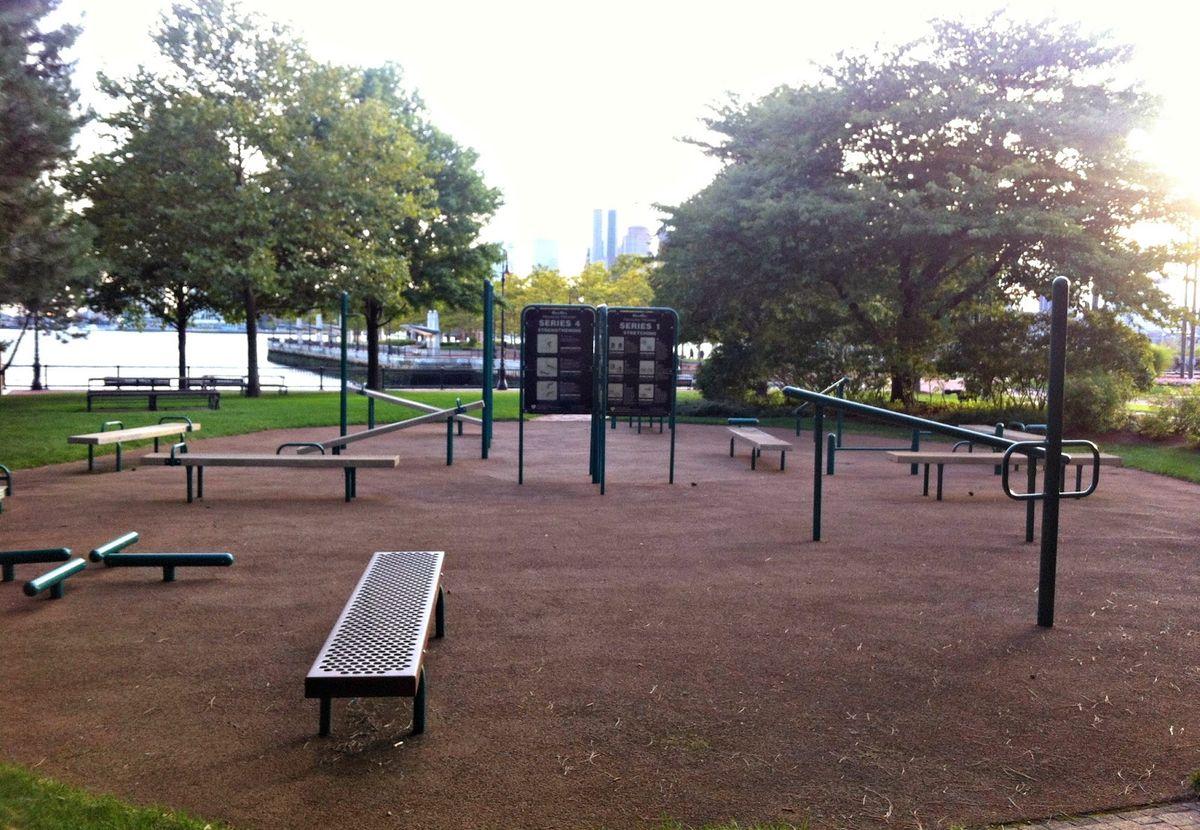 Boston - Calisthenics Park - Piers Park