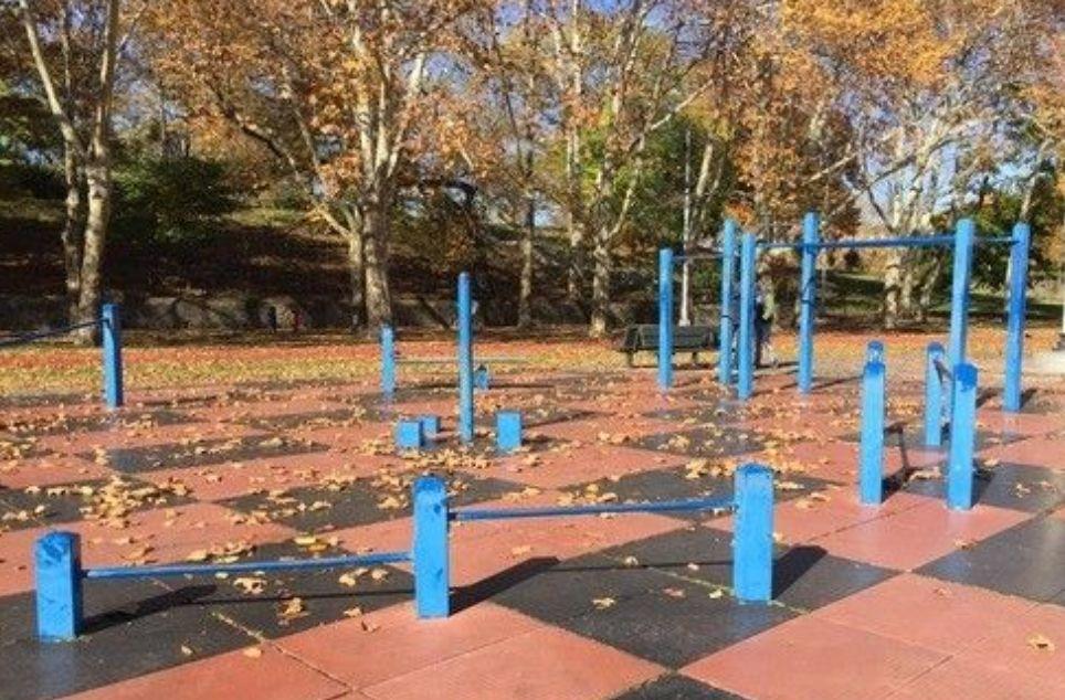 New York - Street Workout Spot- St. Marys Park (Bronx)