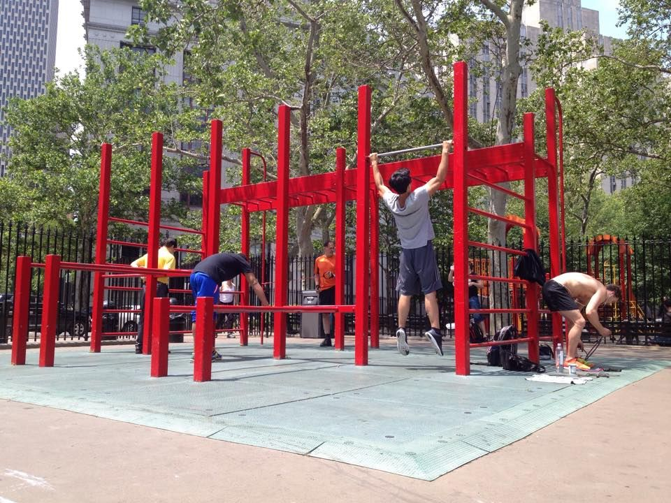 New York - Calisthenics Park - Columbus Park
