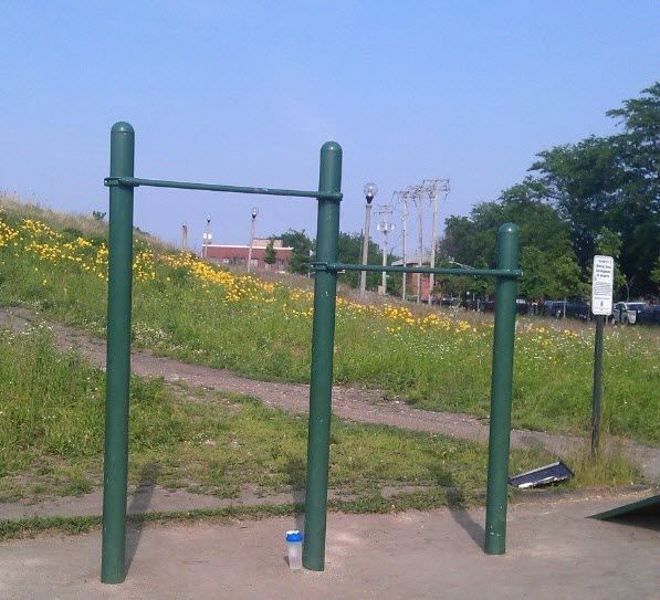 Chicago - Calisthenics Park - Palmisano Park