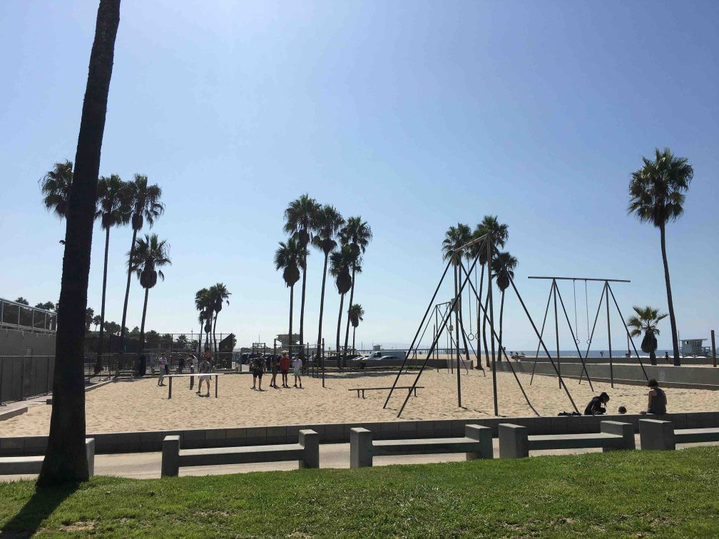 "Santa Monica - Outdoor Exercise Gym - ""Muscle Beach"" - Venice Beach"